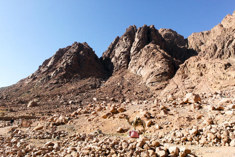 Download Saint Catherine Area stock photo. Image of arid, range - 37464056