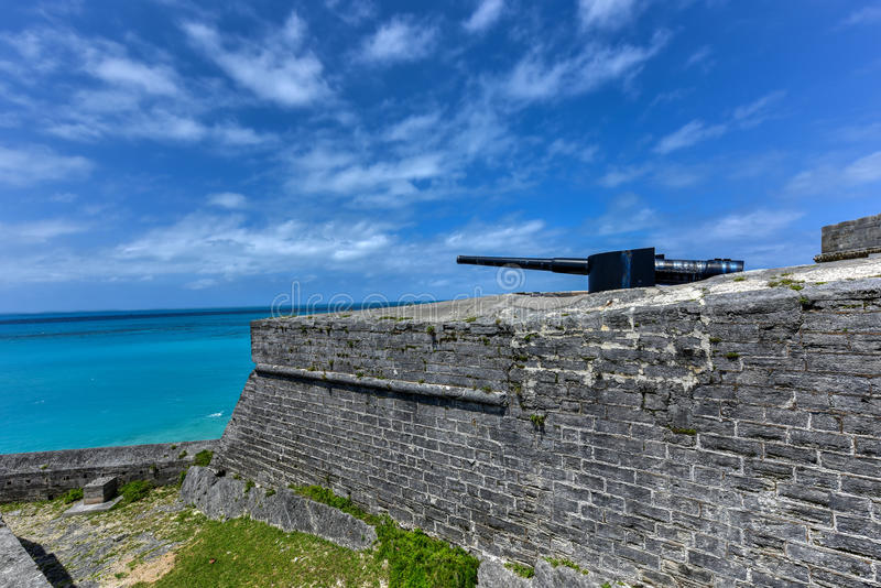 Saint Catherine - Bermuda do forte fotos de stock royalty free