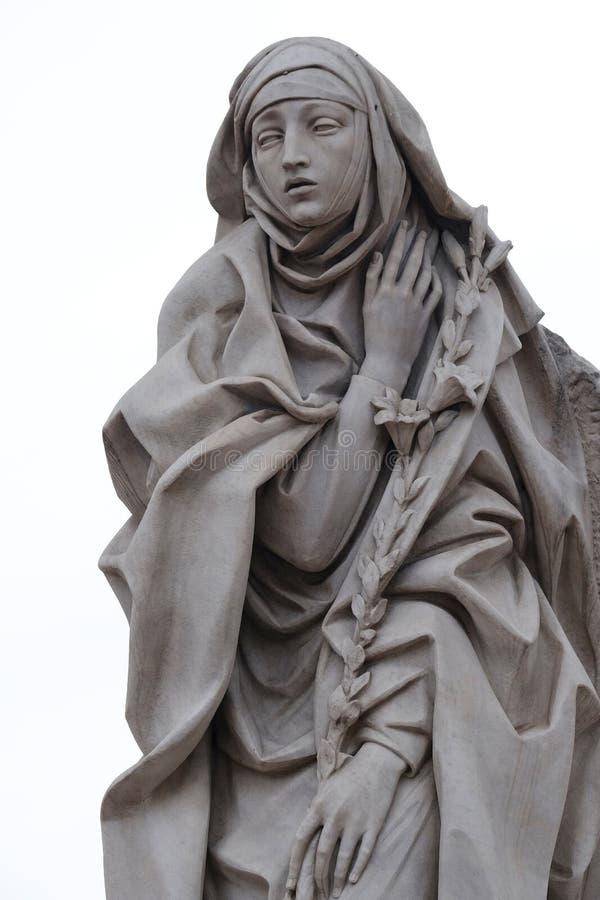 Saint Catherine de Siena imagem de stock royalty free