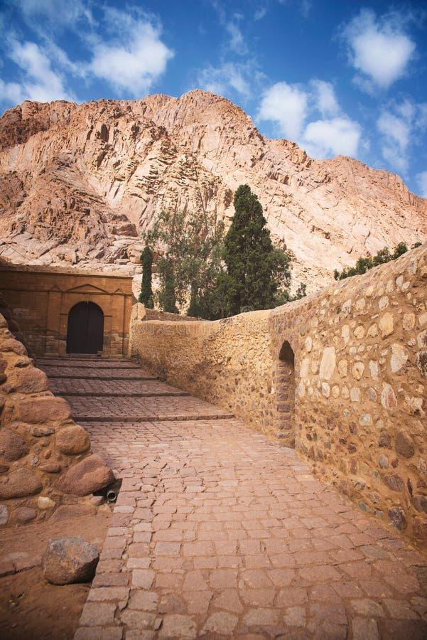 Saint Catherine`s Monastery stock photos