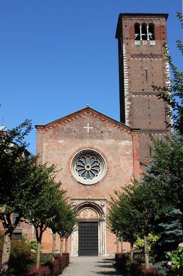 Saint Celso church, Milan royalty free stock photo