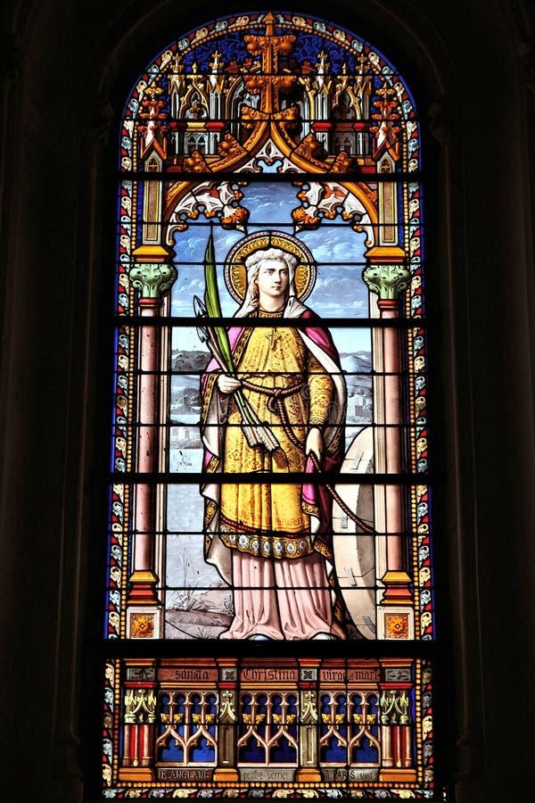 Saint Christine images libres de droits