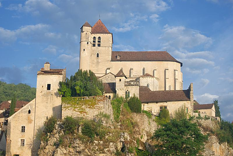 Saint-Cirq-Lapopie images stock
