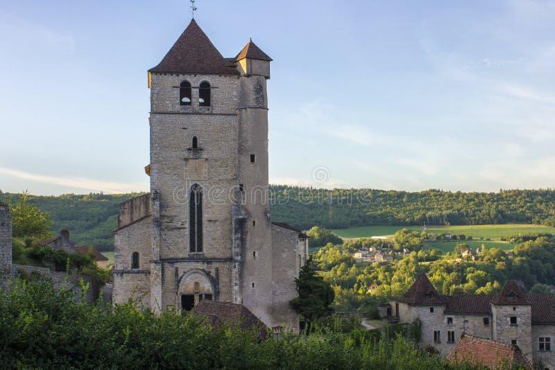 Saint-Cirq-Lapopie, França foto de stock royalty free