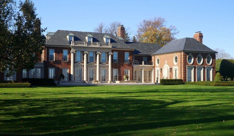 Saint Claire Mansion de lac photos libres de droits
