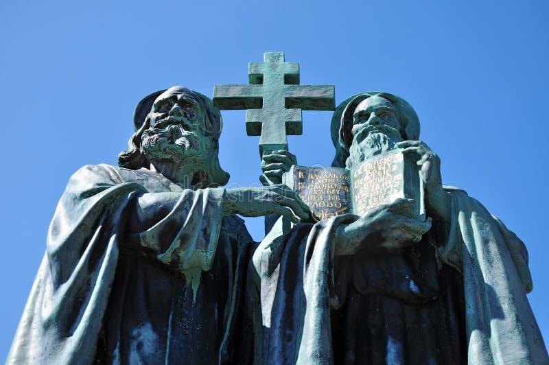 Saint Cyril and Methodius stock image