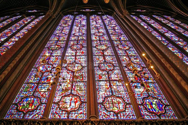 saint de Paris de chapelle photo stock