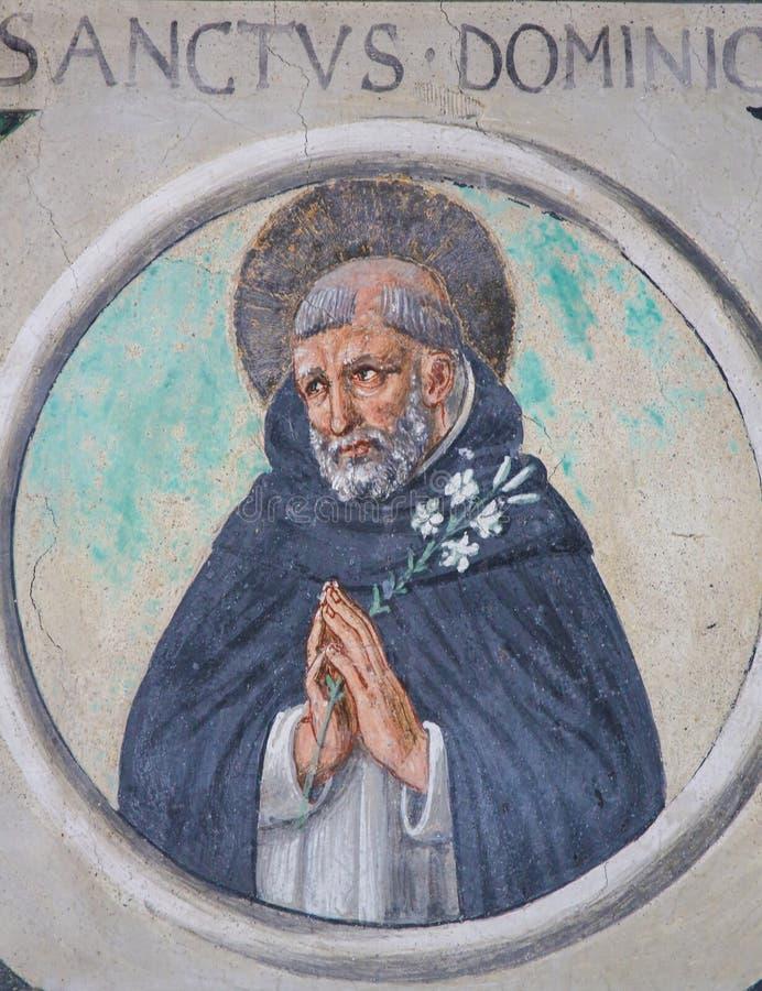 Free Saint Dominic - Church Of Sant Agostino In San Gimignano Royalty Free Stock Photography - 126780017