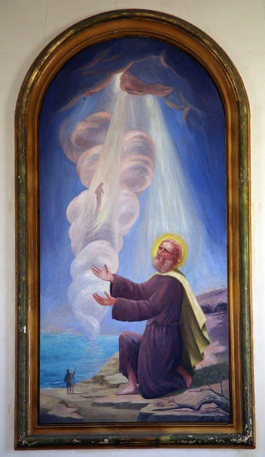 Saint Elijah fotografia de stock royalty free