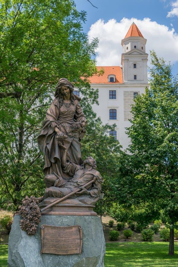 Saint Elizabeth de la Hongrie photos libres de droits