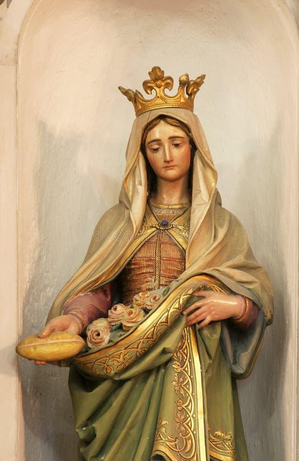 Saint Elizabeth de la Hongrie image libre de droits