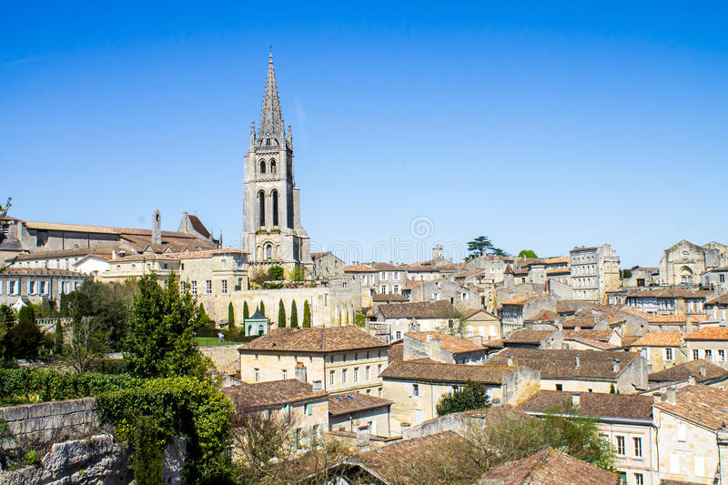 Saint Emilion, Bordeaux, France photos stock