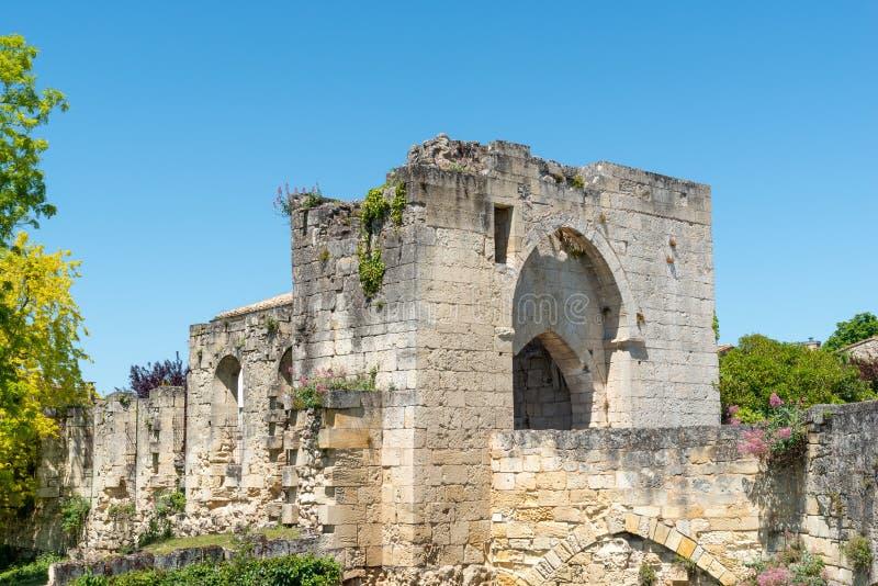 Saint Emilion, pobliscy bordowie w Gironde, Francja obraz royalty free