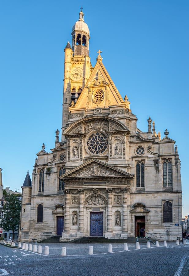 Saint-Etienne-du-Mont church in Paris, France royalty free stock image