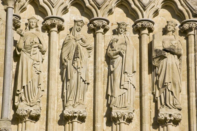 Saint Fêmeas, Catedral De Salisbúria Imagem de Stock Royalty Free