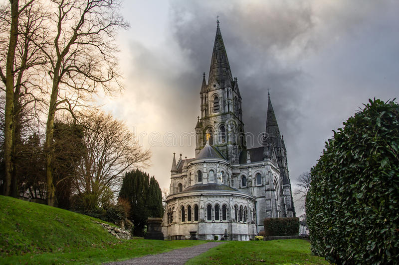 Saint Fin Barre's Cathedral royalty free stock photos
