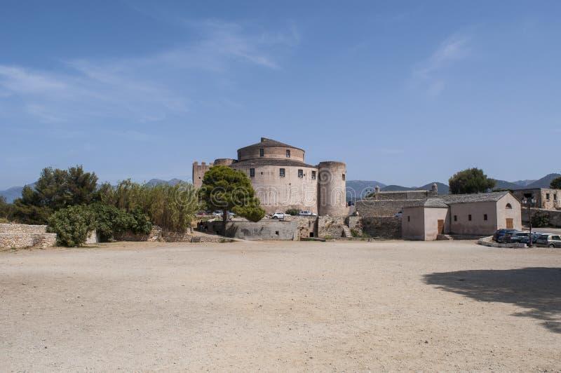 Saint Florent, San Fiorenzo, horizon, citadelle, Haute-Corse, Corse, France, île, l'Europe photo stock