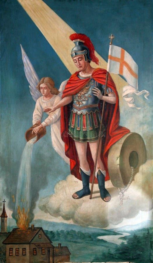 Saint Florian photo libre de droits