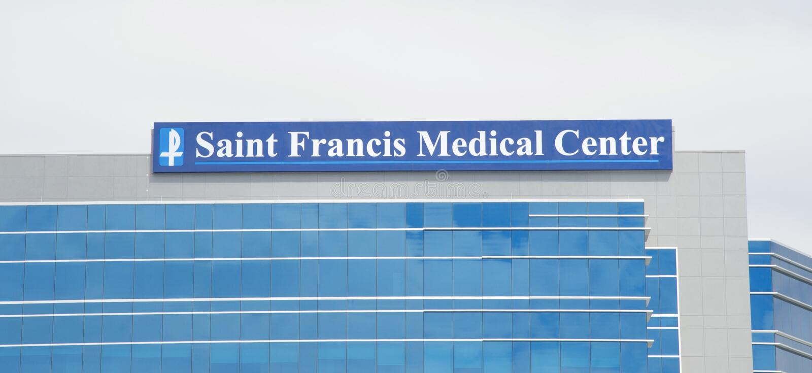 Saint Francis Medical Center stock image