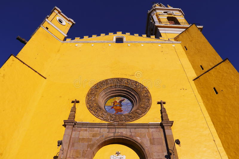 Saint Gabriel convent VI. Franciscan friary of saint Gabriel Archangel, city of cholula, mexican state of puebla stock photography