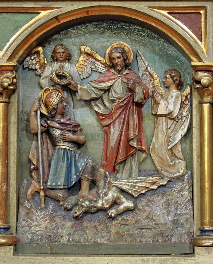 Saint George fotografia de stock