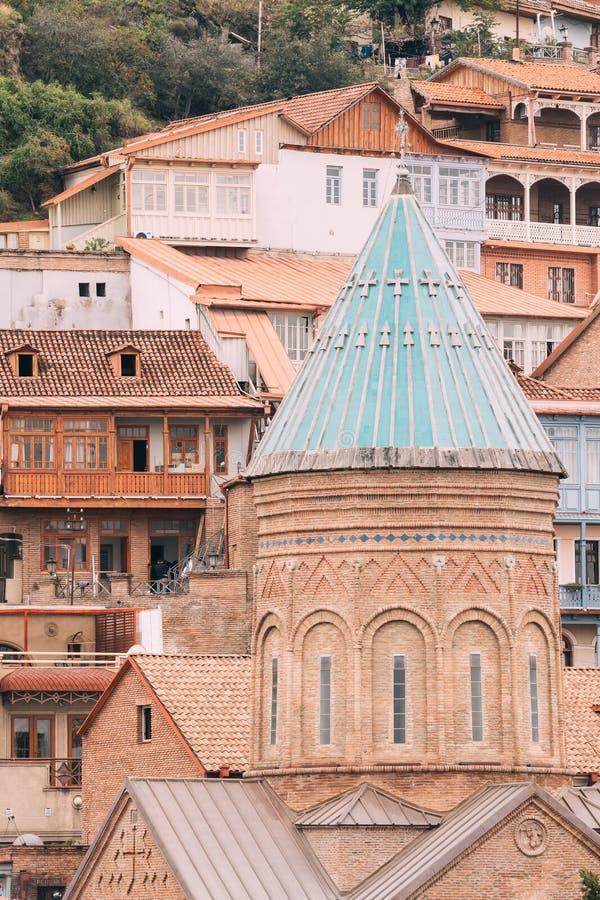 Saint George Armenian Cathedral de Tbilisi, Geórgia imagem de stock