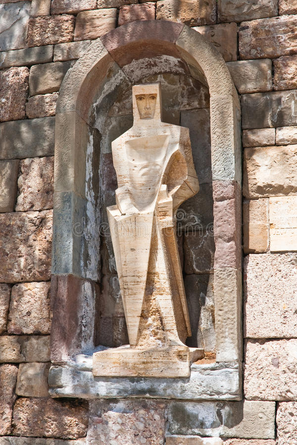 Free Saint George By Picasso, Montserrat Monastery Royalty Free Stock Photo - 24700975
