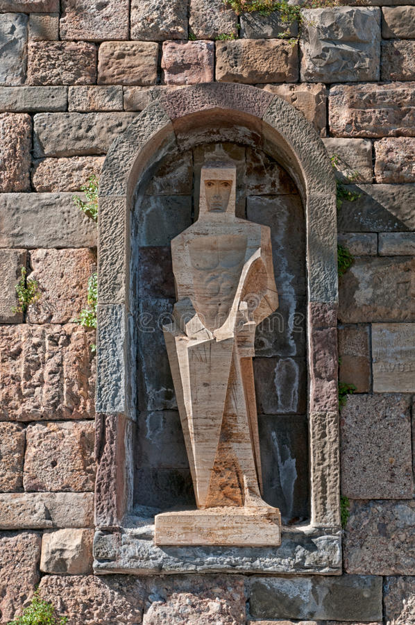 Free Saint George By Picasso,Montserrat Monastery,Spain Royalty Free Stock Photo - 23043955