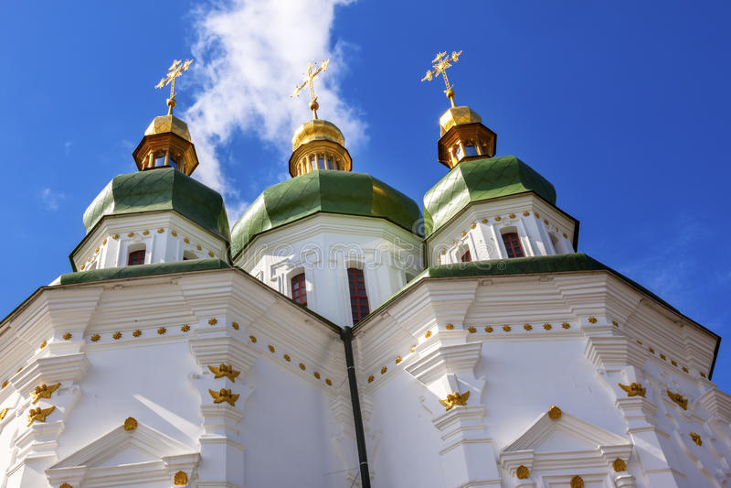 Saint George Cathedral Vydubytsky Monastery Kiev Ukraine photographie stock libre de droits