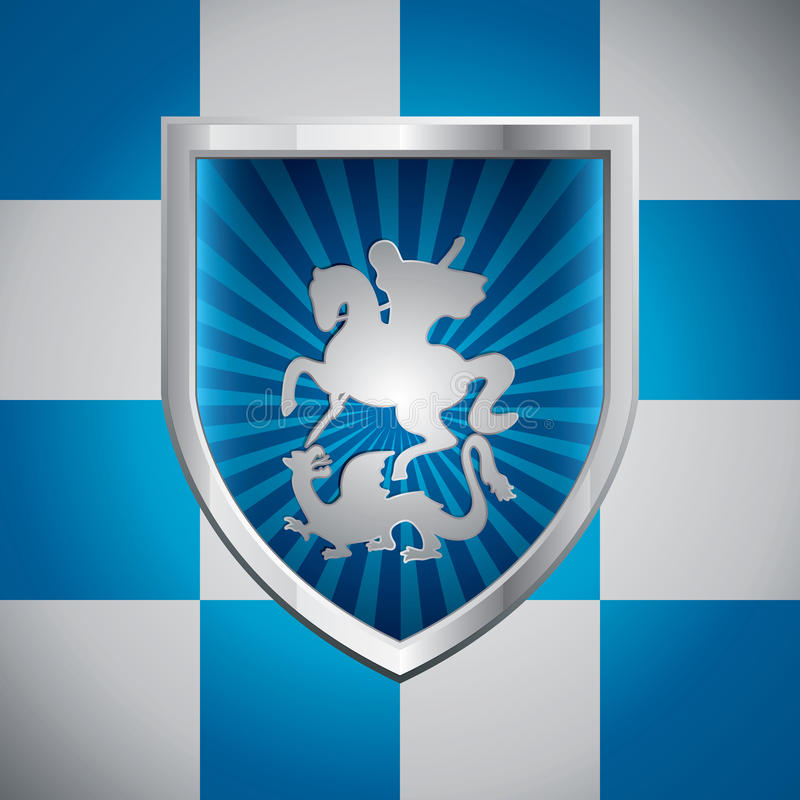 Download Saint George And The Dragon Stock Vector - Image: 21771304