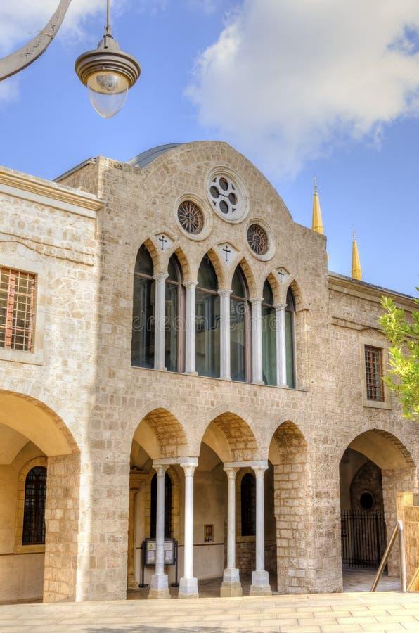 Saint George Greek Orthodox Church, Beirut Stock Photo ...
