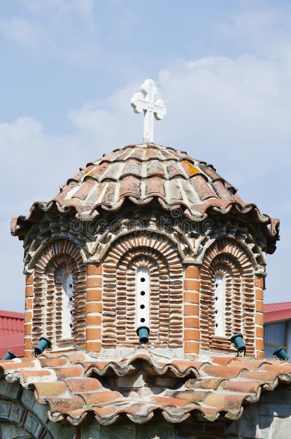 Saint George Monastery de Giurgiu, Roumanie photographie stock libre de droits