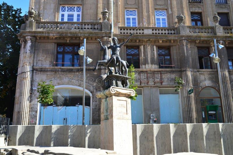 Saint George Square imagem de stock