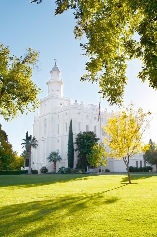 Saint George Temple photo stock