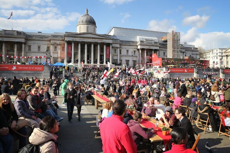 Saint Georges Day de Londres images stock