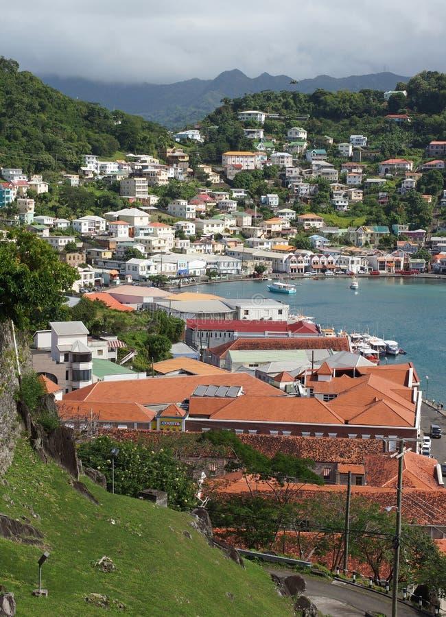 Saint Georges, Grenada, Caribbean royalty free stock image