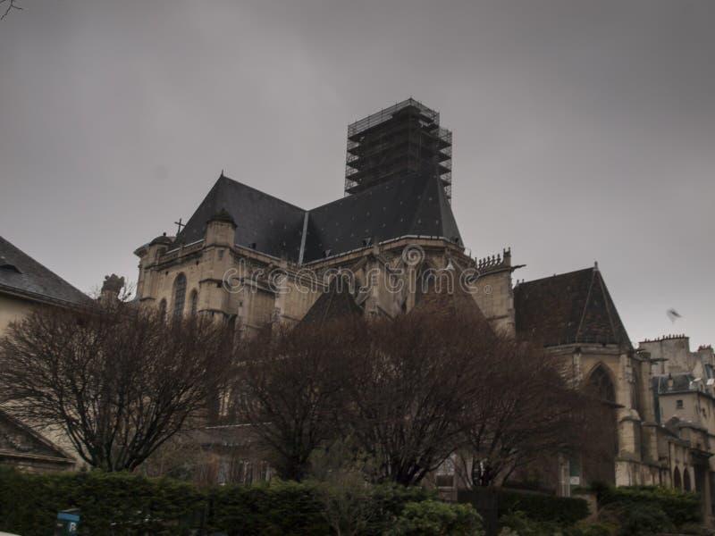 Saint Gervais Church Saint Protais - une ?glise tard-gothique dans le 4?me secteur parisien, sur la rive droite de la Seine photo stock