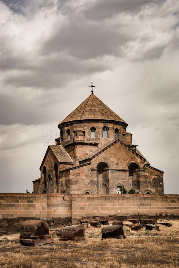 Saint Hripsime Church, Echmiadzin, Armenia. Saint Hripsime Church, Monastery in Echmiadzin Armenia royalty free stock photo