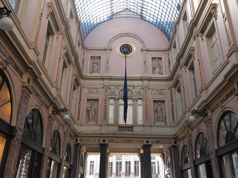 Download Saint Hubertus Royal Gallery (Brussels, Belgium) Stock Photo - Image of capital, town: 39505732