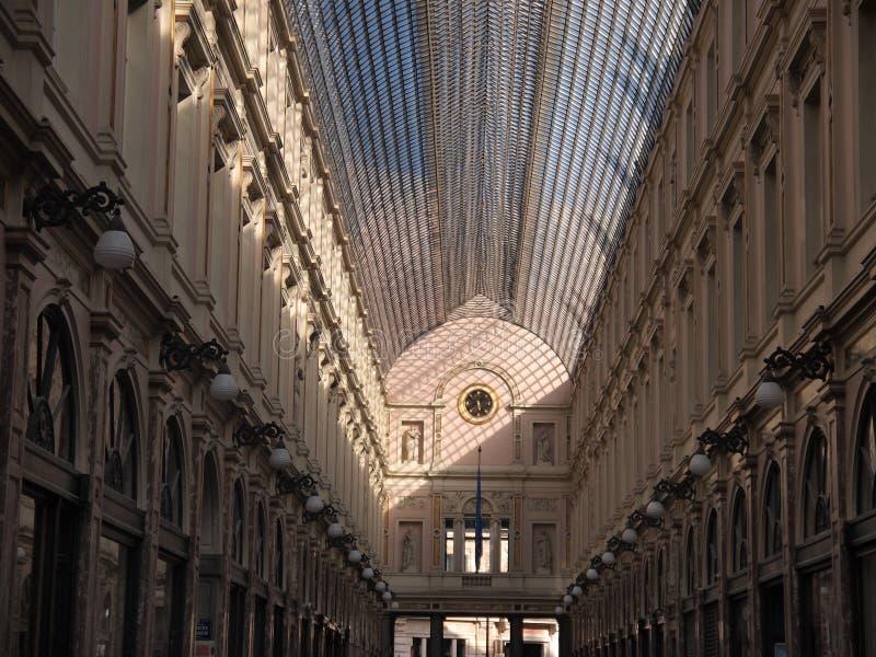Download Saint Hubertus Royal Gallery (Brussels, Belgium) Stock Photo - Image of town, luxury: 39505754