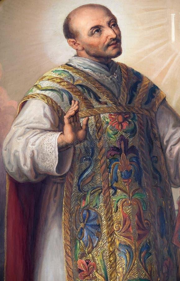 Saint Ignatius of Loyola royalty free stock images
