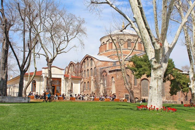Saint Irina church, Istanbul, Turkey royalty free stock photo