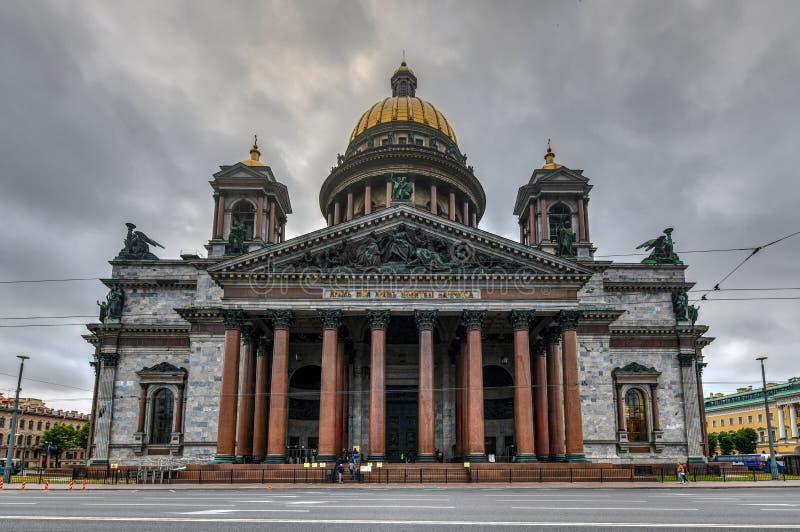 Saint Isaac Cathedral - Saint Petersburg, Russia stock photos