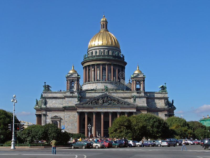 The Saint Isaac S Cathedral Stock Photos