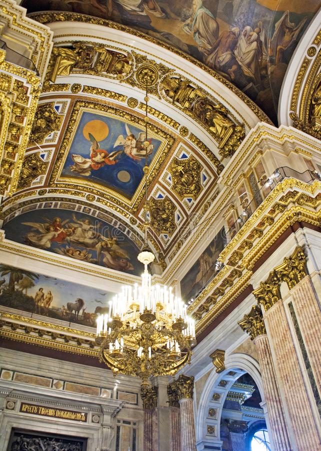 Saint Isaac's Cathedral royalty free stock photos