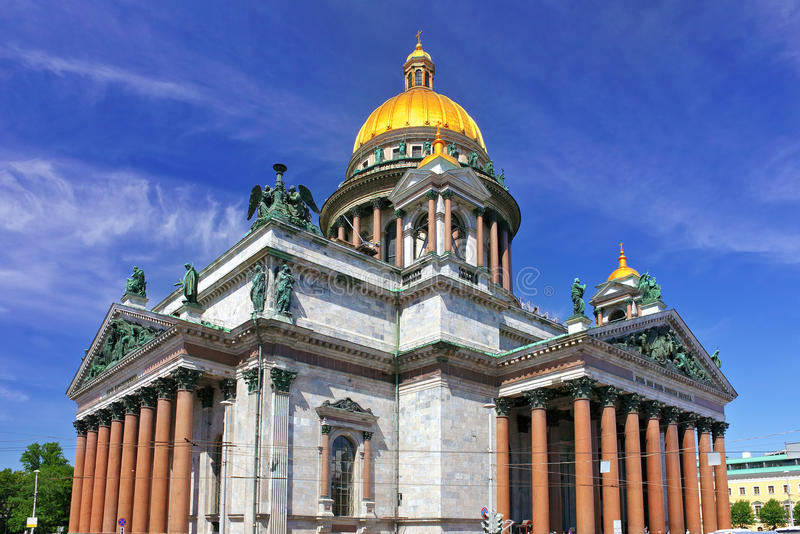 Saint Isaac S Cathedral In St Petersburg, Russia Royalty Free Stock Image