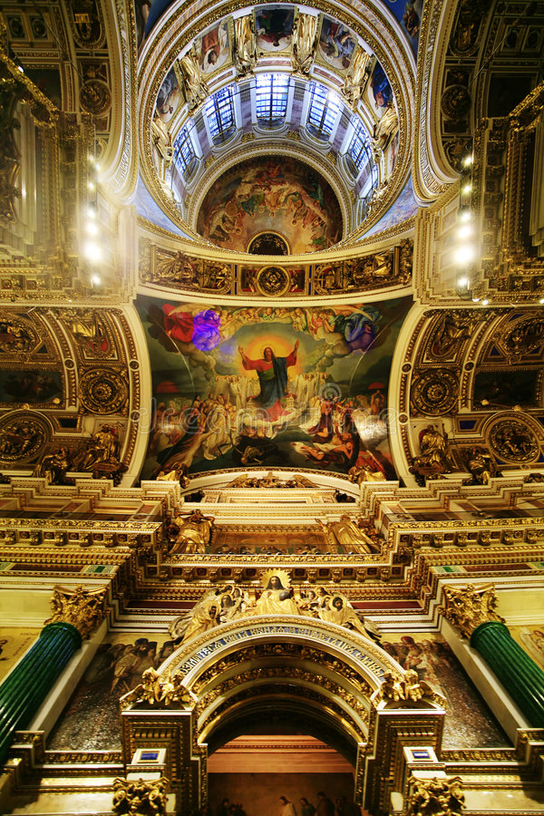 Download Saint Isaak Cathedral. stock image. Image of domes, historic - 1418285