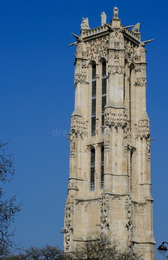 Free Saint-Jacques Tower, Paris, Stock Images - 21398684