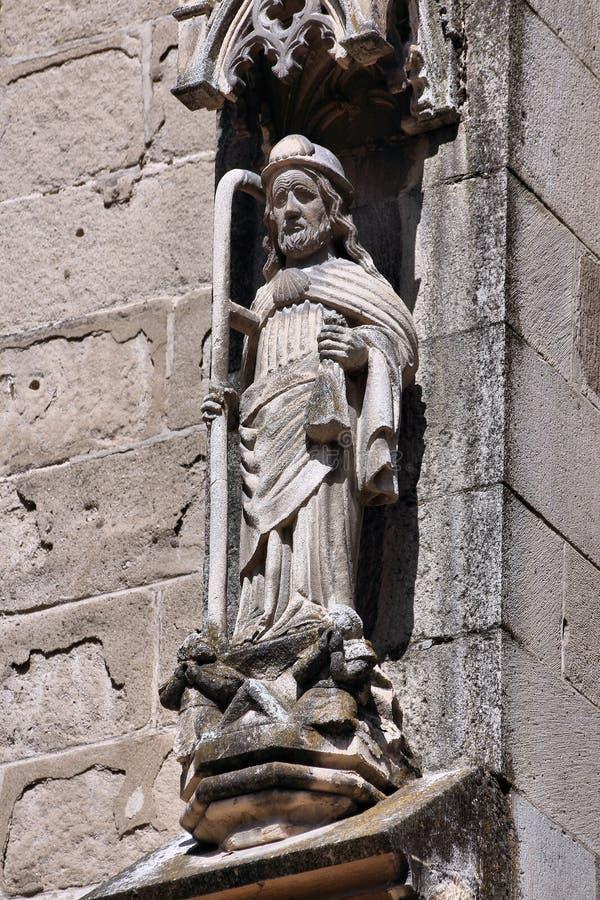 Download Saint James stock image. Image of romanian, pilgrim, saint - 28174949