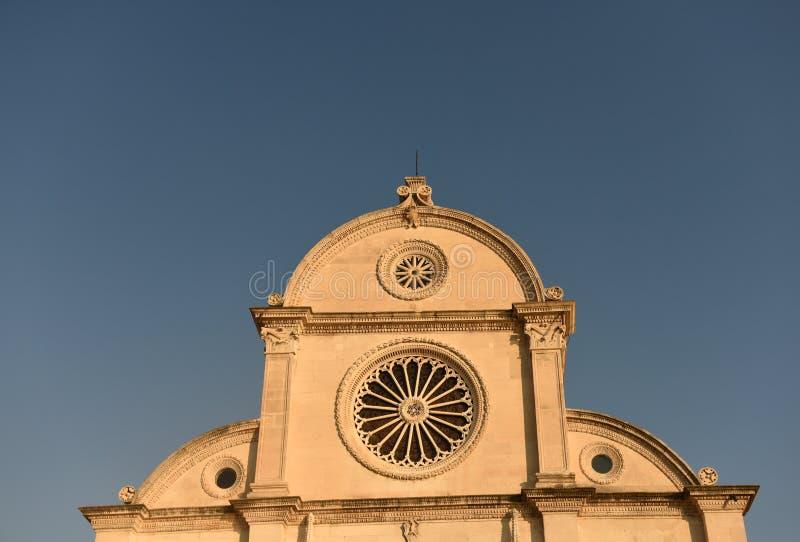 Saint James Cathedral in Sibenik, Croatia. royalty free stock photo